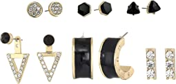 GUESS - 6 Mixed Earrings Set