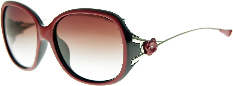 Zacway Modern Fashion Oversized Women Polarized UV400 Sunglasses Metal Arm Flower