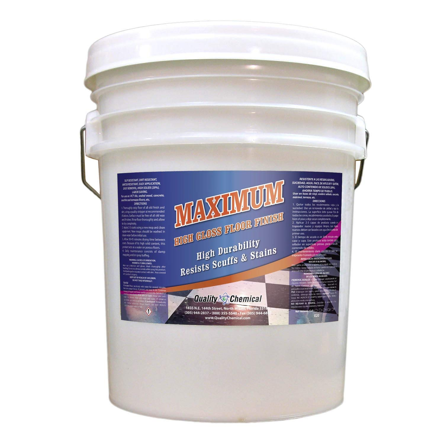 Maximum High Solids Commercial Wax Floor and Max 72% OFF Max 50% OFF Shine Finish-5