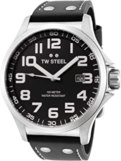 TW Steel Mens Pilot Watch - 48mm
