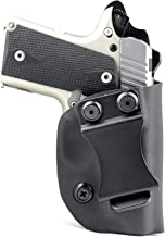 R&R Holsters: IWB Kydex Holster for Kimber Micro 380, Micro 9mm & Colt Mustang - Inside The Waistband - Adjustable Cant & Retention