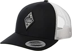 Black/White/Columbia Grey/Diamond Patch