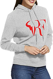 Women's Roger Federer and Rafael Nadal Hooded Sweater for Outdoors and Sporting