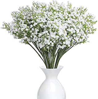 4PCS Gypsophila Wedding Decoration White Colour Silk Artificial Flowers