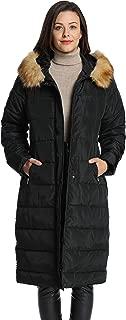 Women's Winter Long Puffer Coats Maxi Warm Coat with Fur...