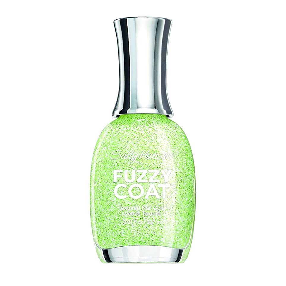 ネクタイトランスミッション好きであるSALLY HANSEN FUZZY COAT TEXTURED NAIL COLOR #600 FUZZY FANTASY