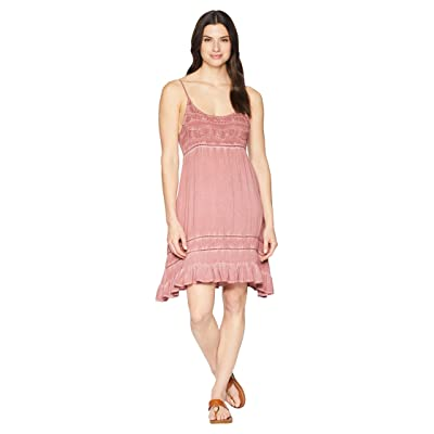 Rock and Roll Cowgirl Strap Dress D5-6775 (Rust) Women