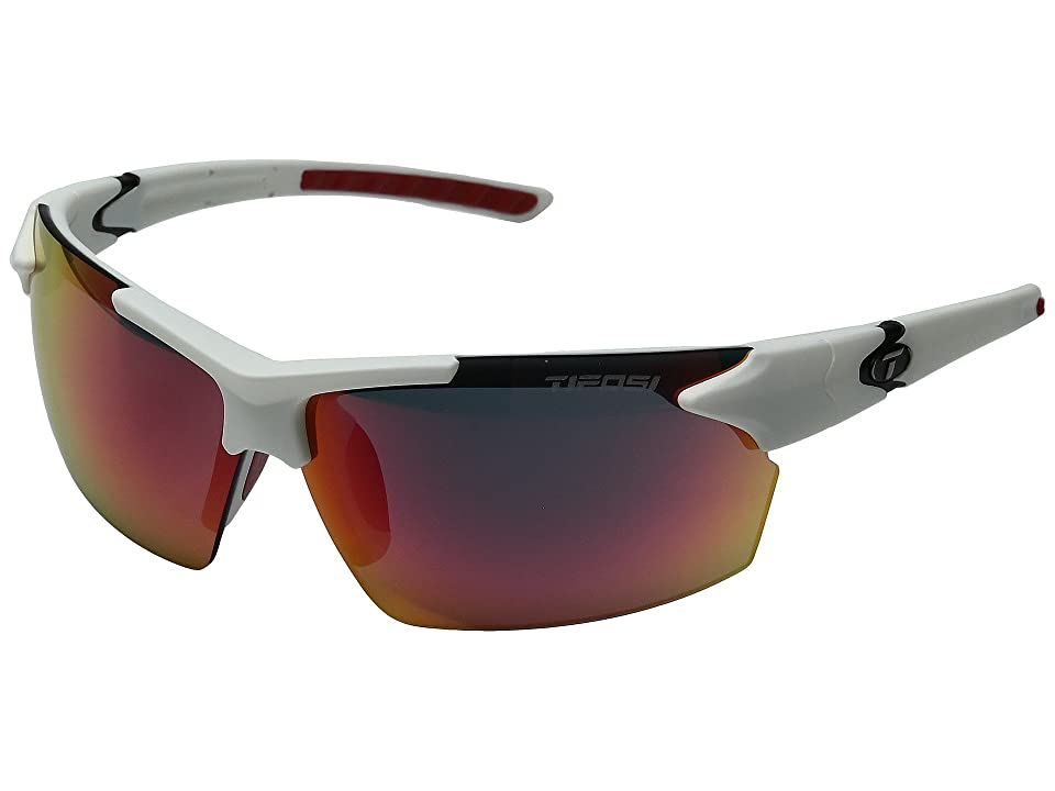 Tifosi Optics Jettm (Matte White) Athletic Performance Sport Sunglasses
