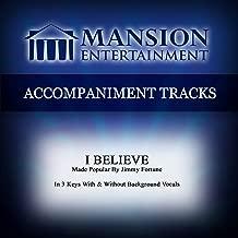 i believe accompaniment track