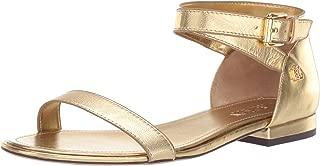 Lauren Ralph Lauren Women's Davison Sandal, Rl Gold, 5.5 B US