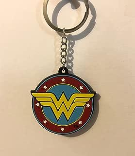 Six Flags Magic Mountain DC Comics Wonder Woman Light Up Keychain