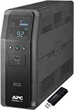 APC Sine Wave UPS Battery Backup & Surge Protector, 1000VA, APC Back-UPS Pro (BR1000MS) Bundle Including a Kingston 16GB DataTraveler