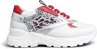 NEROGIARDINI E031430F Sneaker Teens Niña Piel/Tela