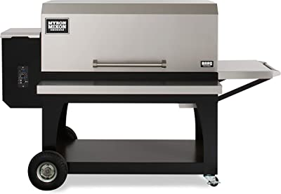 Myron Mixon BARQ-3600 Wood Pellet Grill, Industry Leading Pellet Smoker Grill Ensures Savory Flavors, Outdoor Barbecue Grill with Easy Functionality, Pellet Grills for All BBQ Enthusiasts