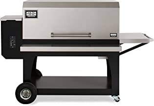 Myron Mixon BARQ-3600 Wood Pellet Grill from, Industry Leading Pellet Smoker Grill Ensures Top Flavors, Barbecue Grill with Easy Functionality, Pellet Grills for All BBQ Enthusiasts