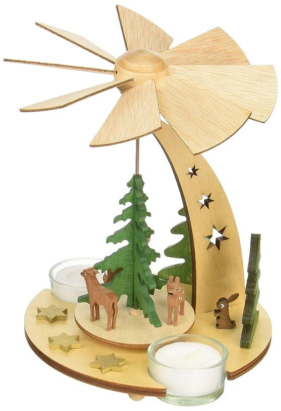 週末ベアリング転倒kuhnert クリスマスピラミッド 森の動物