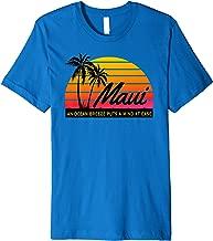 Ocean Breeze Mind at Ease MAUI HAWAII Souvenir Beach Premium T-Shirt