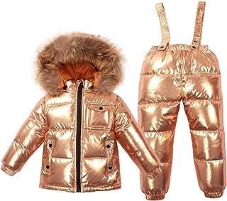 90c41dc2ae4 Aancy Winter Baby Hooded Duck Down Jacket Parka Baby Casual Kids Snowsuit  Winter Rompers Unisex Newborn