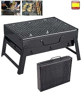 DSA Trade Shop Portable Fold Barbecue Charcoal Grill Stove Shish Kabob BBQ Patio Camping Cooker