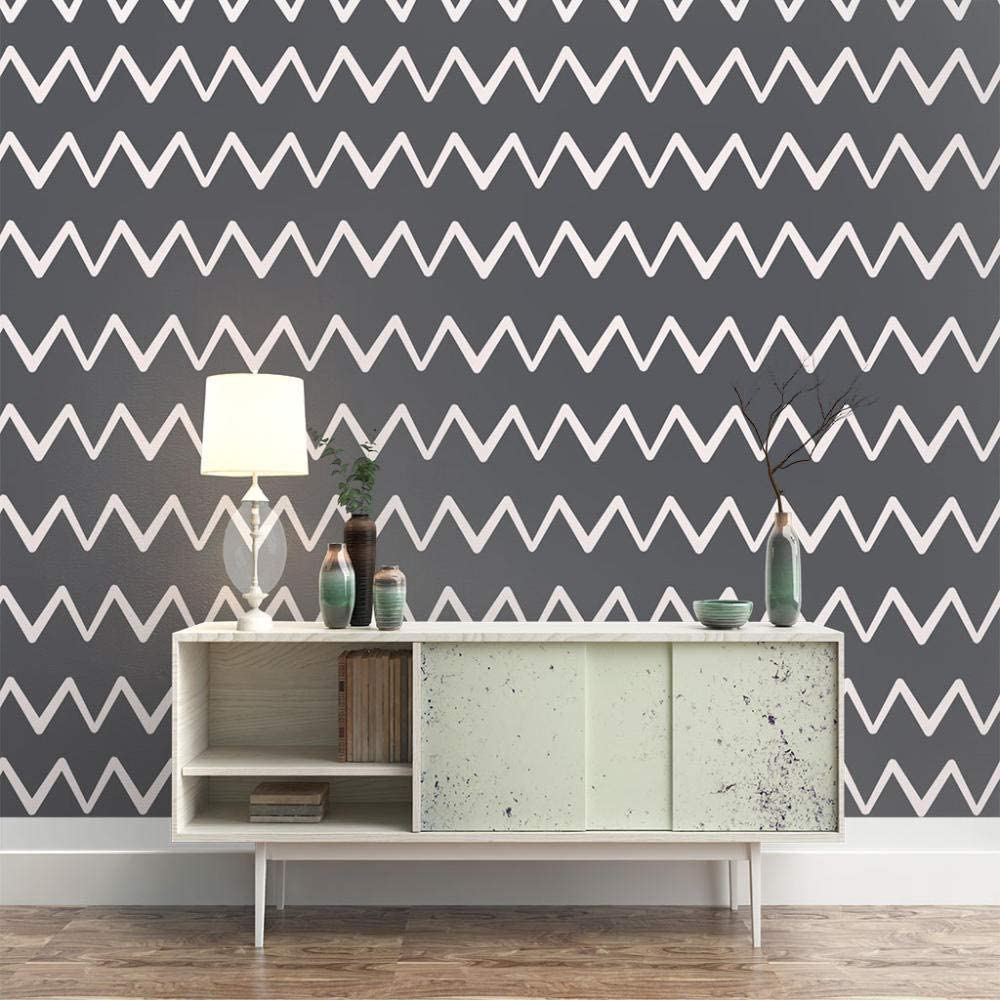 ZXDHNS Photo Wallpaper Wall Mural New popularity - Grey Wave 98.4 Art W 7 X It is very popular H