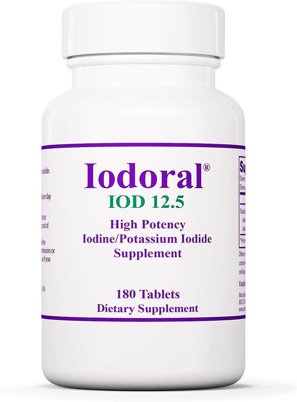 Optimox Iodoral 12.5 mg - Original Solution I High Potency Year-end Ranking TOP7 gift Lugol