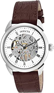 Men's Specialty Skeletonized Analog Display Mechanical Hand-Wind Watch