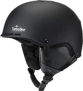 TurboSke Ski Helmet, Snowboard Helmet Snow Sports Helmet -ASTM Certified for Men, Women and Youth