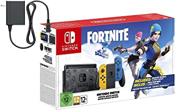 Nintendo Switch Console Fort - Nite Wildcat 2020 Holiday Special Edition - 32GB Unique Switch Console, Wildcat Outfits, 20...