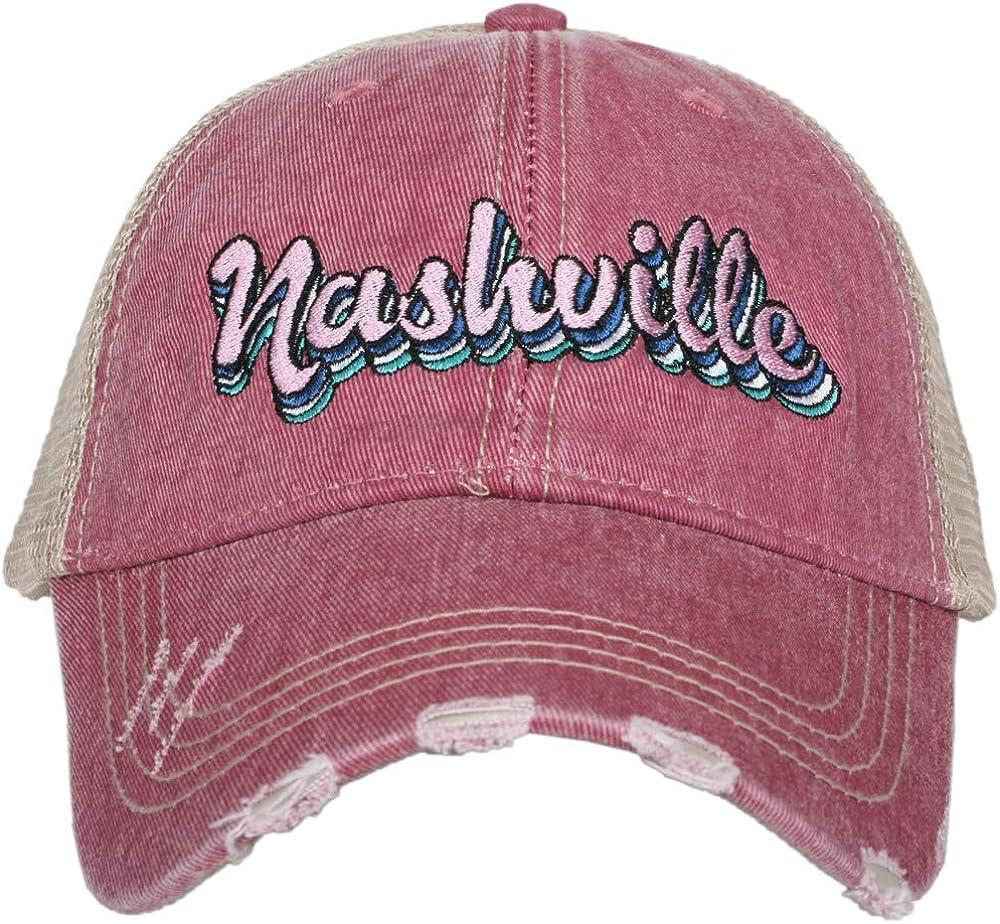 KATYDID Nashville Baseball Hat - for New life Women Stylish Cheap Trucker