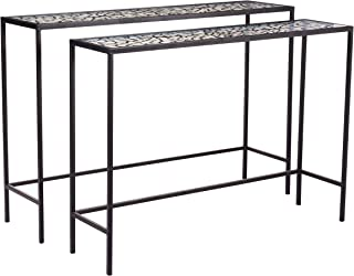 Zuo Web Console Tables, Black