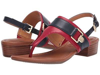 Tommy Hilfiger Keely (Red Multi) Women