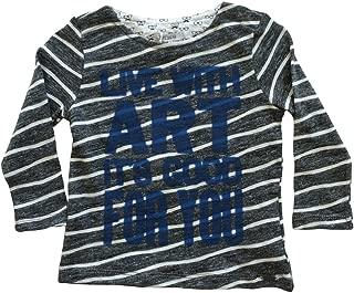 IKKS Little Boys Live with Art Long Sleeve Shirt Grey (12M)