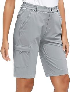 Libin Women's Lightweight Hiking Shorts Quick Dry Cargo Shorts Summer Travel Camping Golf Shorts UPF 50 Water Resistant