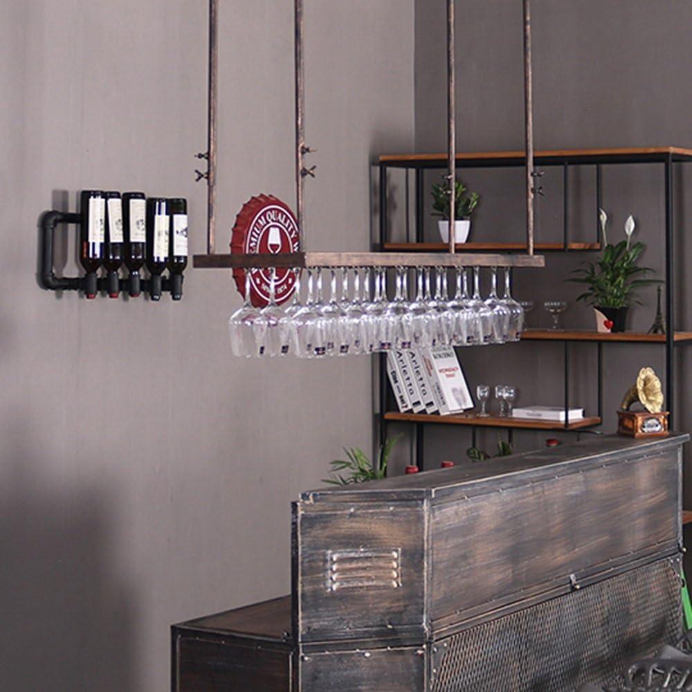 Wine shelf LHA Creative Wrought Super beauty product restock quality top! Bar Rack Iron New product type KTV