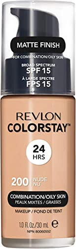Revlon ColorStay Makeup For Combination/Oily Skin, Nude, 30ml