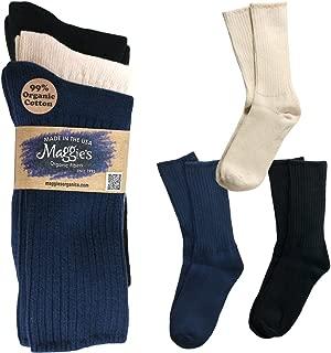 Maggie's Organic Cotton Crew Sock Tri-pack