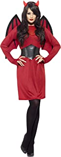 Smiffys Women's Basic Devil Costume