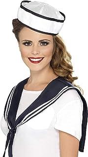Smiffy's Sailor Instant Kit, White/Blue, One Size