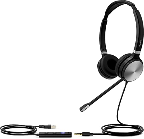 lowest Yealink UH36 Series Headset, Wired outlet online sale Dual-Ear | discount Teams Certified (UH36 Dual) sale