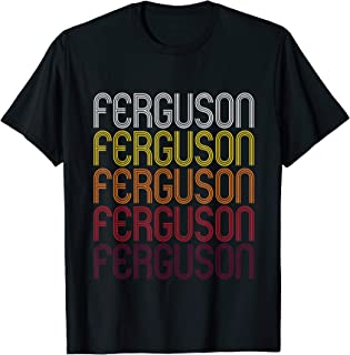 Ferguson, MO | Vintage Style Missouri T-shirt