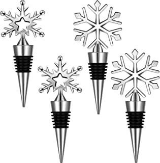 Best snowflake bottle stopper Reviews
