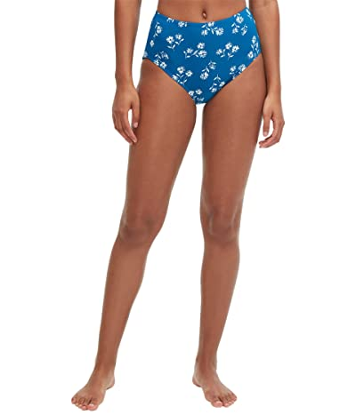 Kate Spade New York Dandelion Floral High-Waist Bikini Bottoms