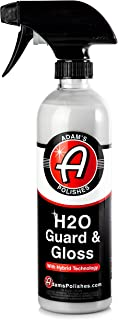 Adam's H2O Guard & Gloss - Revolutionary Hybrid Top Coat Technology Combines Silica Sealant, Polish Wax, and Quick Detailer Technology - Seals, Shines, and Protects All Exterior Surfaces
