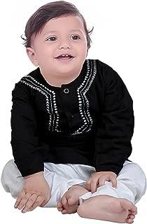 Black Kurta Pyjama for Boys