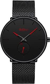 Mens Watches Fashion Simple Minimalist Waterproof Quartz Analog Watch Designer Luxury Business...