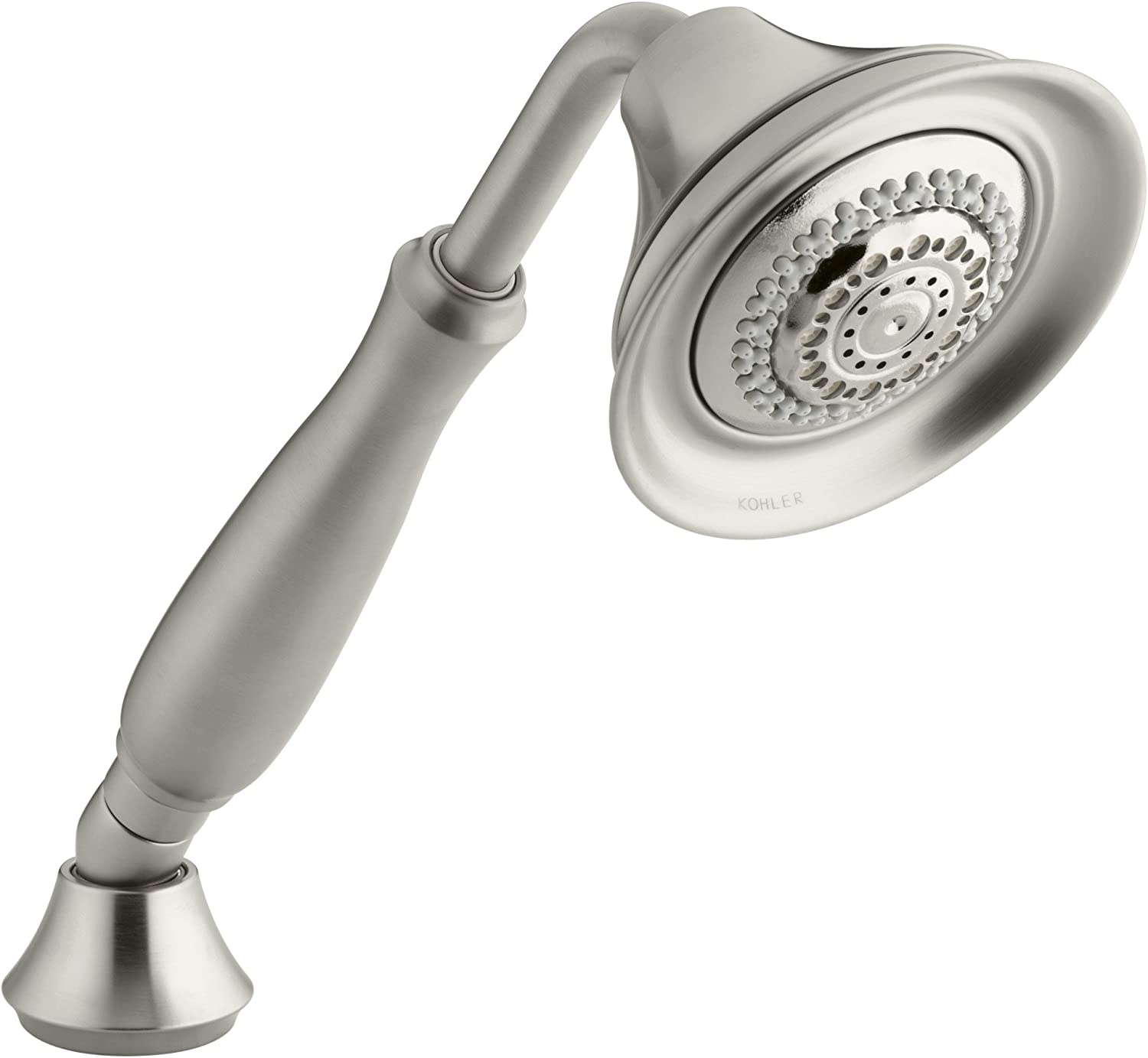 KOHLER K-10286-BN Forte Multifunction Handshower, Vibrant Brushed Nickel