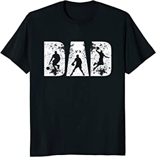 BASKETBALL DAD GIFT FOR FATHER'S DAY FROM DAUGHTER SHIRT