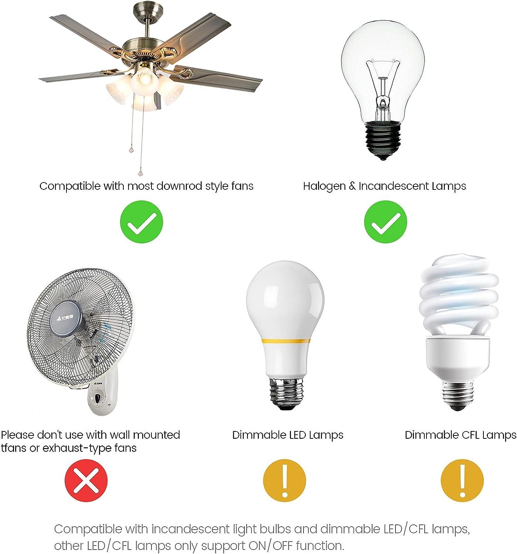 Buy Eogifee Universal Ceiling Fan Remote Control And Receiver Kit Replacement Of Hampton Bay Harbor Breeze Hunter Fan 53t 2aazpfan 53t Kit Online In Vietnam B07h72hj87