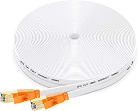 Cat 8 Ethernet Cable 50 Ft,High Speed Flat Internet...