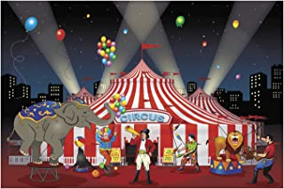 Fun Express Carnival Backdrop Banner (1 Piece)